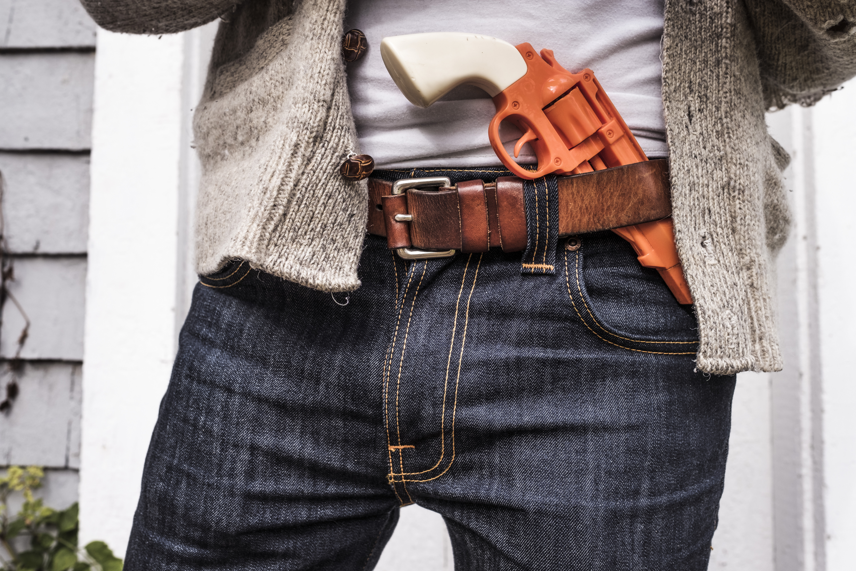 koningsdag oranje pistool
