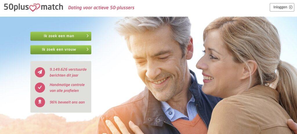 50plusmatch.nl homepagina