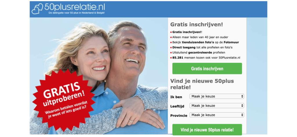 50plus relatie datingsite