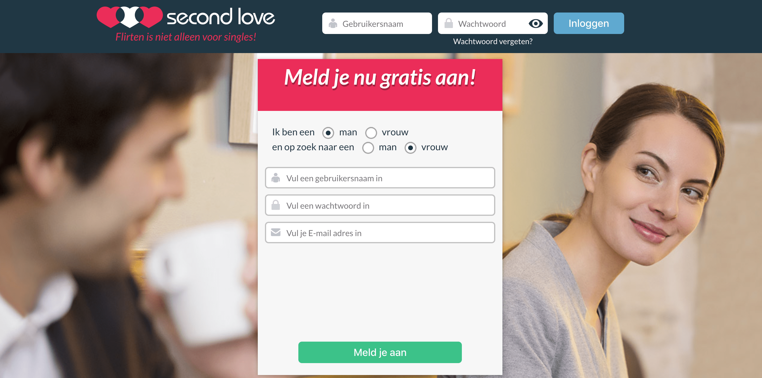Online dating harder voor jongens