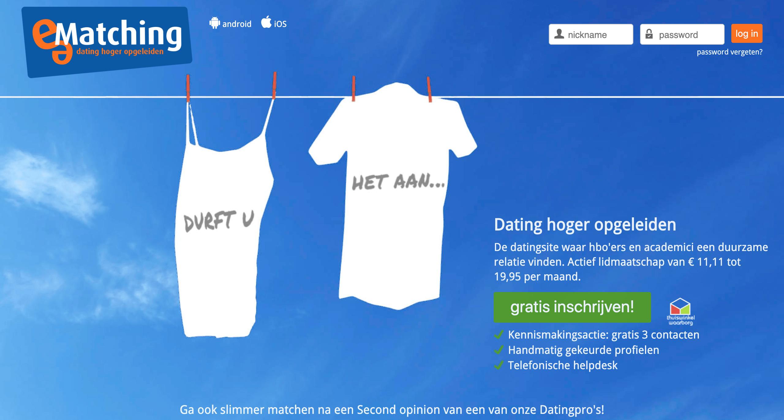 Match dating gratis