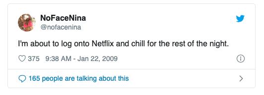 Twitter Netflix Chill 1
